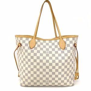 Louis Vuitton Damier Azur Neverfull MM Bag: EUC